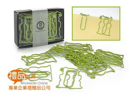 客製化造形迴紋針(12入)