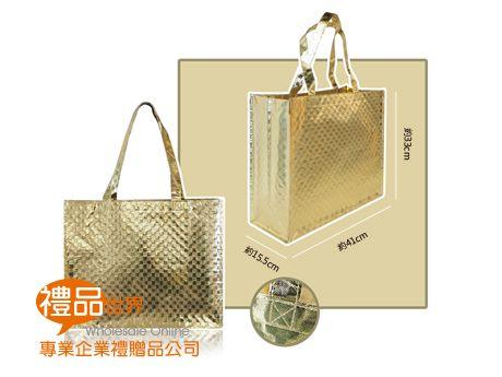 客製化雷射覆膜購物袋33x41x15.5cm