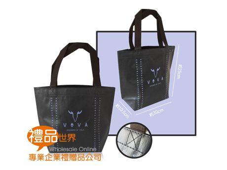 客製化彩色覆膜購物袋25x30.5x10.5cm