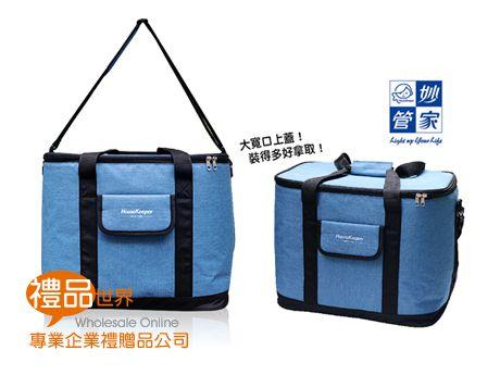 妙管家藍色保冷袋30L