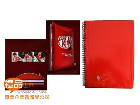 客製化PVC充氣線圈筆記本