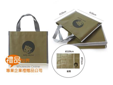客製化防潑水野餐墊(附提袋)
