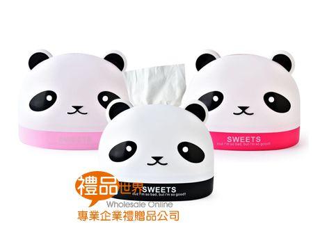 熊貓造型衛生紙盒