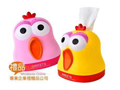 尖叫雞造型衛生紙盒