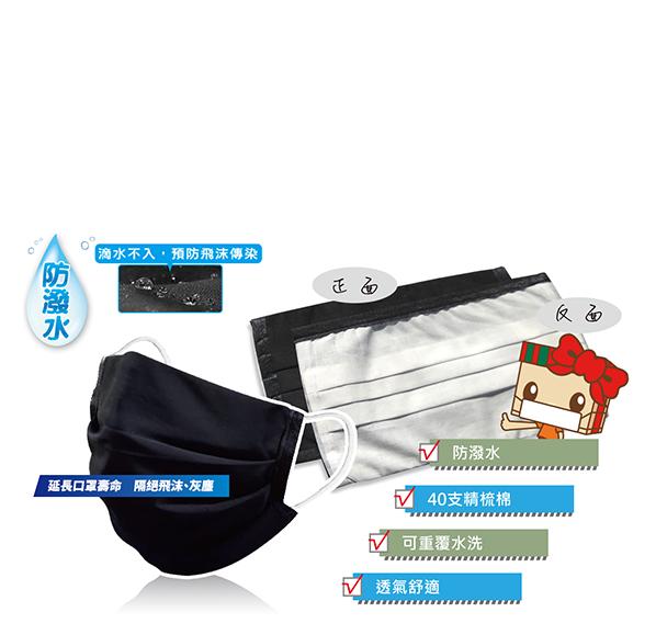 三折痕口罩防護套(單入)