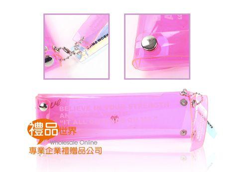 客製化PVC果凍筆袋