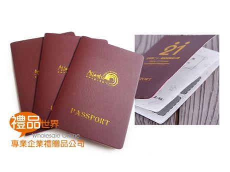 客製化仿護照筆記本