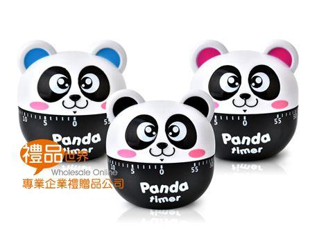 熊貓造型定時器