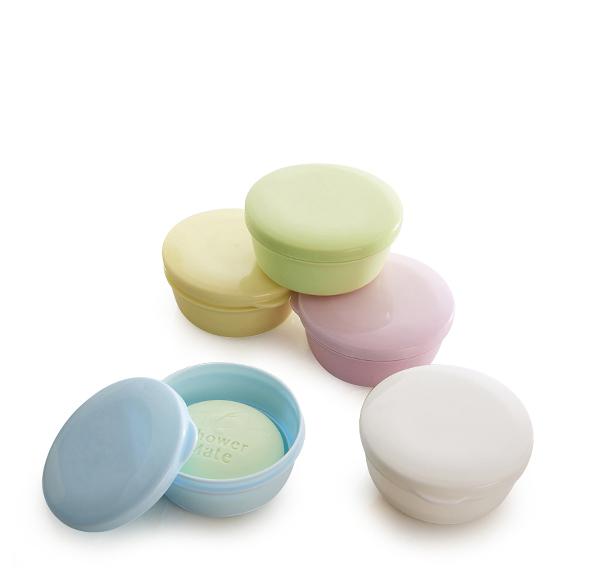 馬卡龍圓型皂盒
