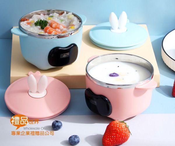 兔耳溫控餐碗
