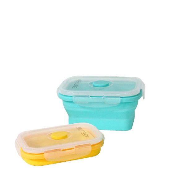 折疊矽膠保鮮盒350ml(單入)
