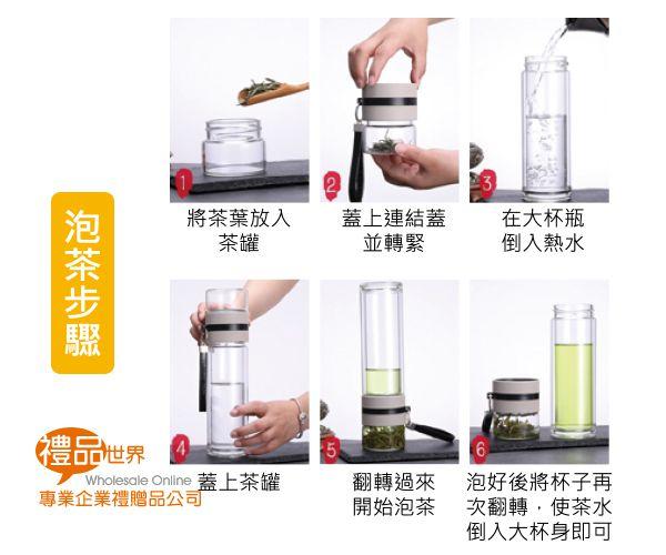 高硼矽玻璃茶水分離瓶300ml