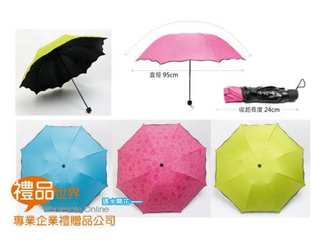 遇水則發摺疊傘