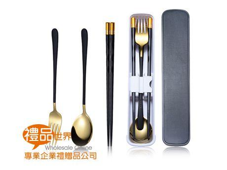韓式烤漆不鏽鋼餐具組