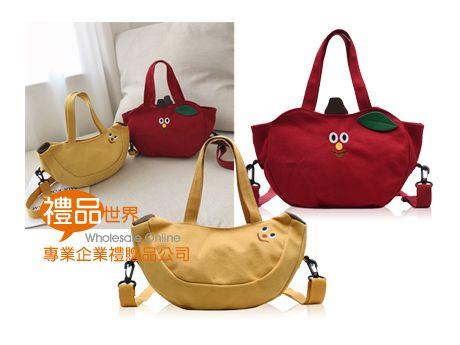 水果造型帆布包