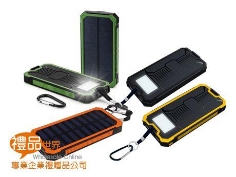 太陽能行動電源6000mAh