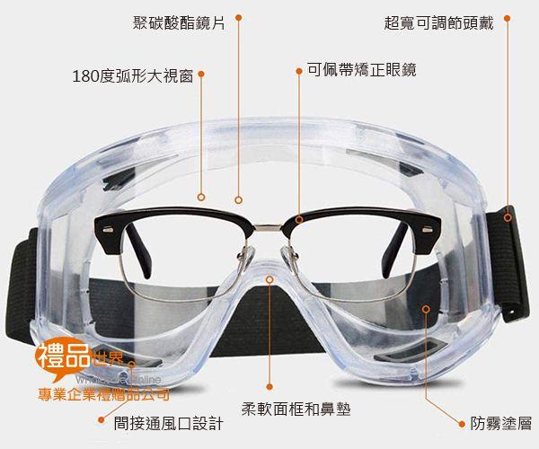 可調式防霧護目鏡