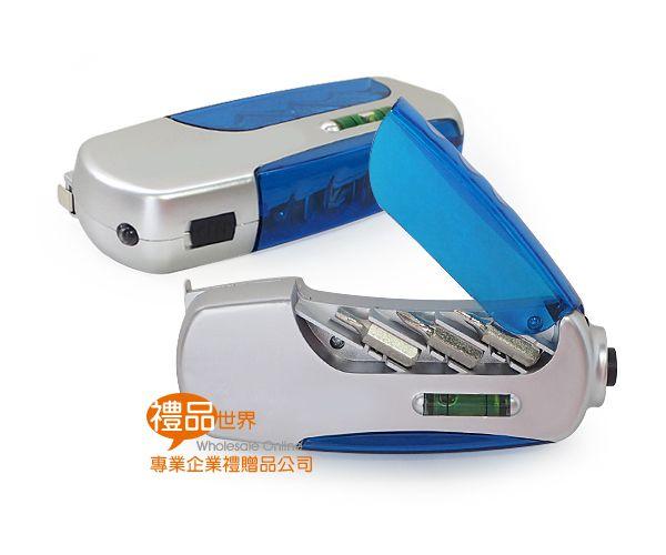 多功能LED燈捲尺工具組