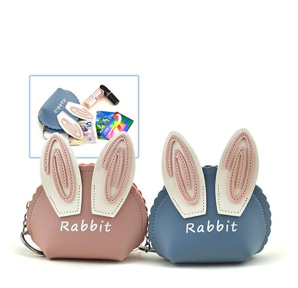 兔耳造型零錢包