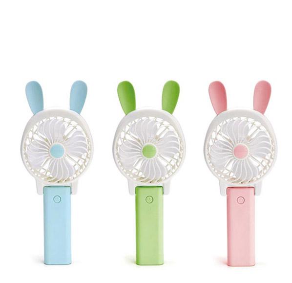 兔子造型手持風扇