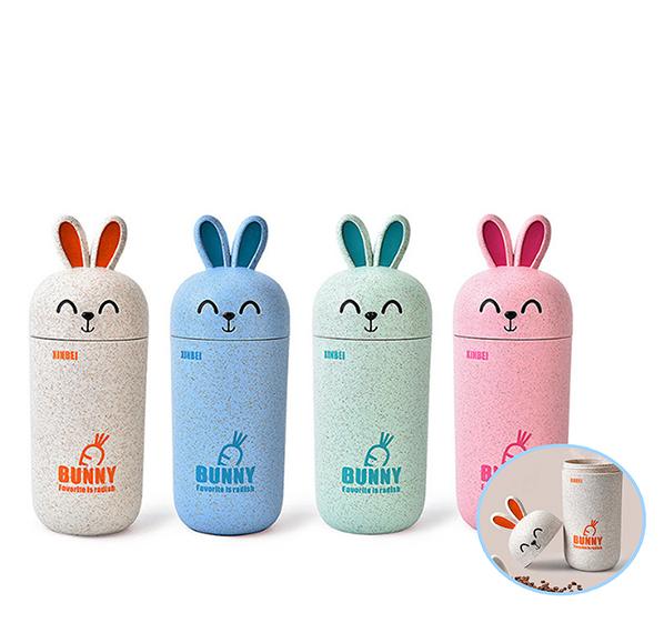 小麥兔子造型杯300ml