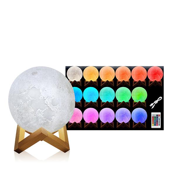 月球造型夜燈10cm