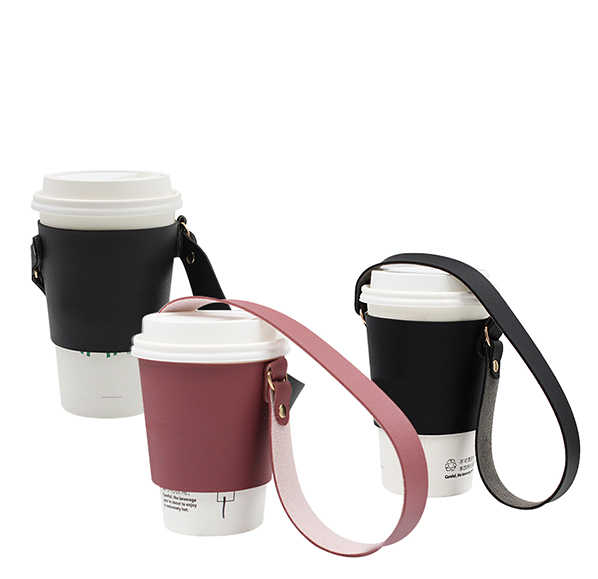 客製化PU皮革杯袋
