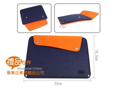 客製化扣式毛氈布iPad包