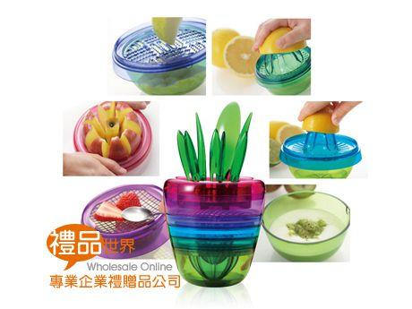 彩虹食物調理十件組