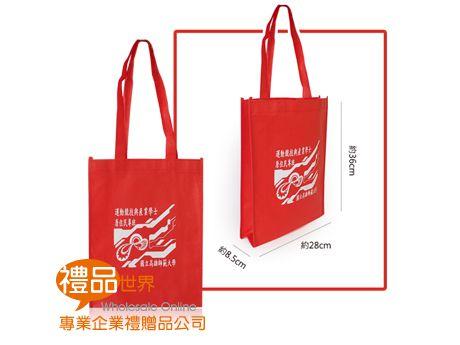 客製化不織布購物袋36x28x8.5cm