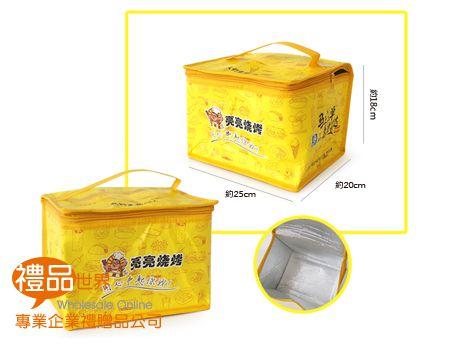 客製化覆膜手提保冷袋25x20x18cm