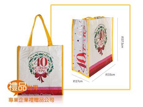 客製化編織布購物袋37.5x33x17cm