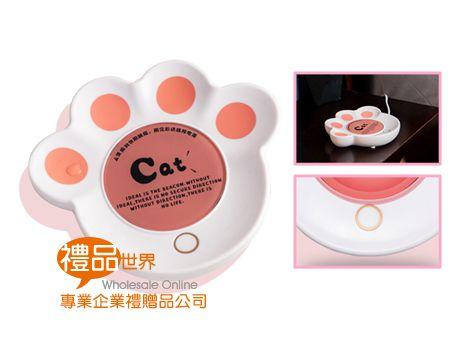 貓掌造型保溫杯墊