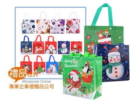 聖誕不織布購物袋
