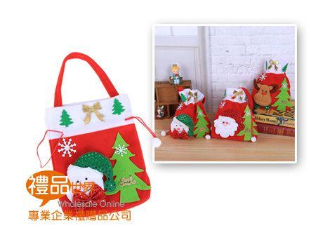 聖誕系列束口提袋