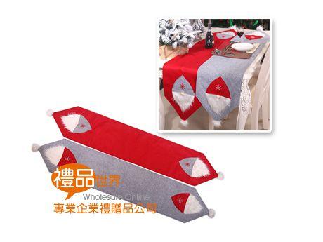 聖誕老人造型桌旗