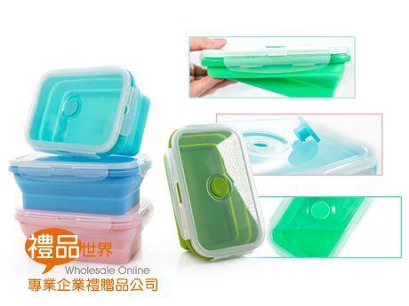 矽膠折疊保鮮盒800ml(單入)