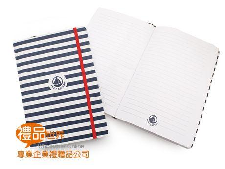 精裝彩印束繩筆記本(A5)