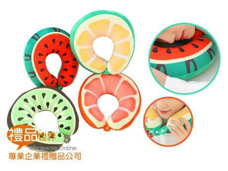 趣味水果頸枕