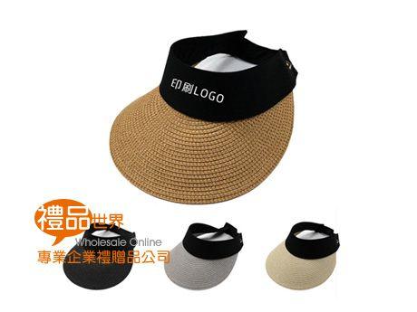 韓版草編遮陽帽