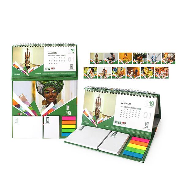 客製化便利貼桌曆
