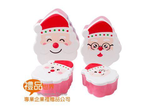 聖誕老人造型保鮮盒組(4入)
