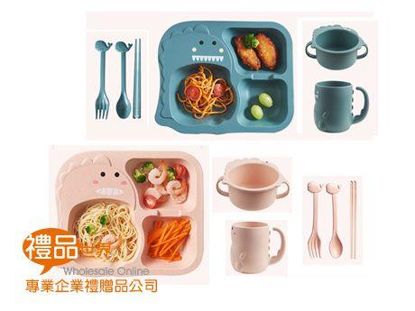 小麥兒童餐具六件組
