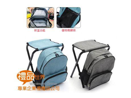休閒保冷背包折疊椅
