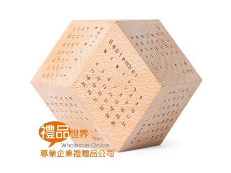 12面骰子型桌曆