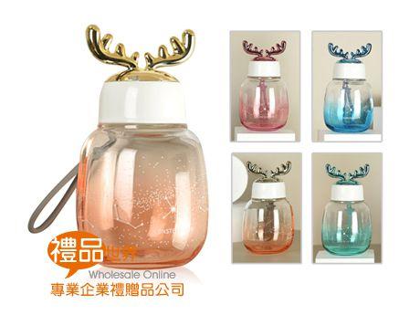 鹿角玻璃隨手瓶300ml