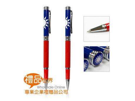 國旗鋼珠筆