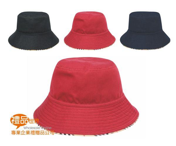 雙面休閒圓帽