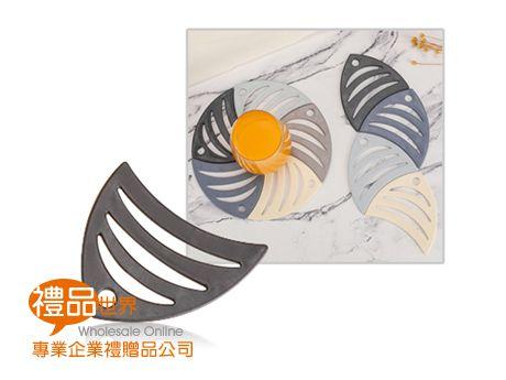 熱帶魚造型杯墊