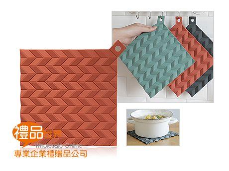 波浪紋矽膠隔熱墊